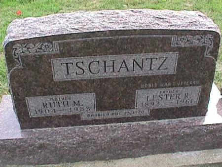 TSCHANTZ, LESTER R - Henry County, Iowa | LESTER R TSCHANTZ
