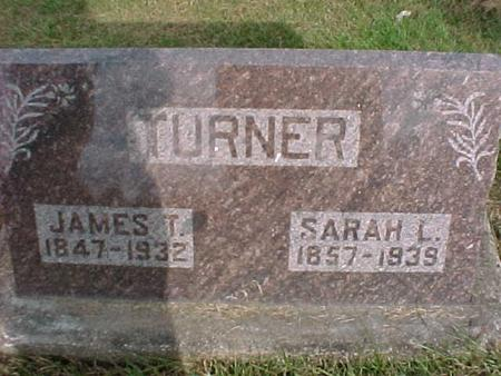 TURNER, JAMES T - Henry County, Iowa | JAMES T TURNER