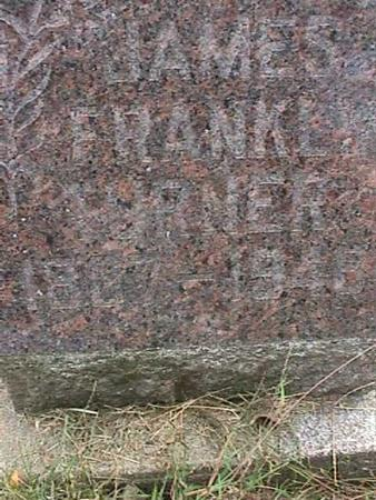 TURNER, JAMES FRANK - Henry County, Iowa | JAMES FRANK TURNER