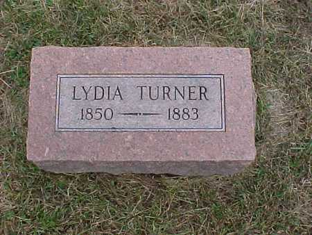 TURNER, LYDIA - Henry County, Iowa | LYDIA TURNER