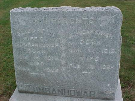 UMBANHOWAR, HUSBAND - Henry County, Iowa | HUSBAND UMBANHOWAR