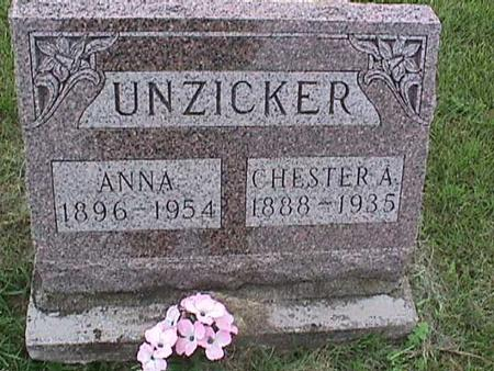 UNZICKER, ANNA - Henry County, Iowa | ANNA UNZICKER