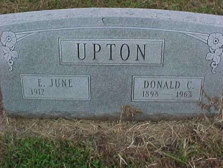 UPTON, E. JUNE - Henry County, Iowa | E. JUNE UPTON