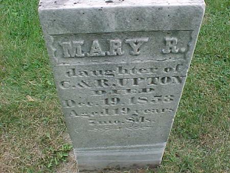 UPTON, MARY - Henry County, Iowa | MARY UPTON