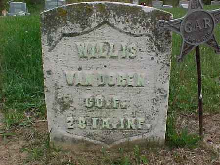 VANDOREN, WILLIS - Henry County, Iowa | WILLIS VANDOREN