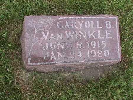 VANWINKLE, CARYOLL - Henry County, Iowa | CARYOLL VANWINKLE