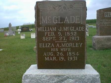 MCGLADE, WILLIAM, ELIZA - Henry County, Iowa | WILLIAM, ELIZA MCGLADE