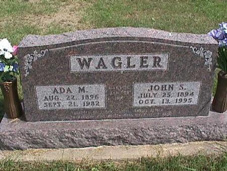 WAGLER, ADA - Henry County, Iowa | ADA WAGLER