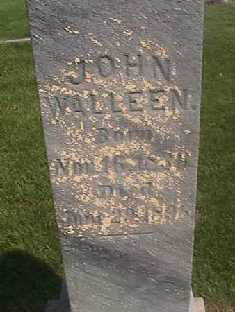 WALLEEN, JOHN - Henry County, Iowa | JOHN WALLEEN