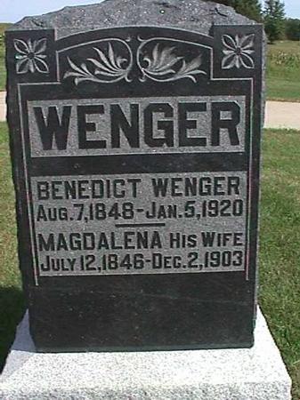 WENGER, BENEDICT - Henry County, Iowa | BENEDICT WENGER