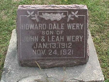 WERY, HOWARD DALE - Henry County, Iowa | HOWARD DALE WERY
