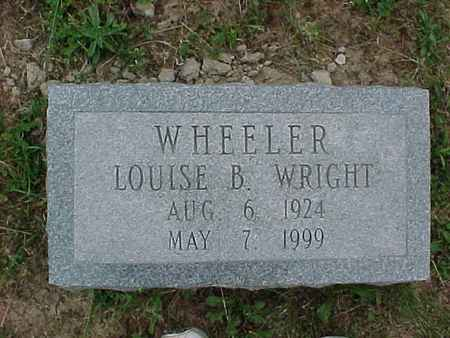 WRIGHT WHEELER, LOUISE B. - Henry County, Iowa | LOUISE B. WRIGHT WHEELER