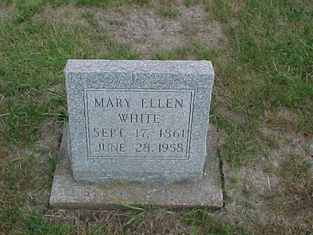 WHITE, MARY ELLEN - Henry County, Iowa | MARY ELLEN WHITE