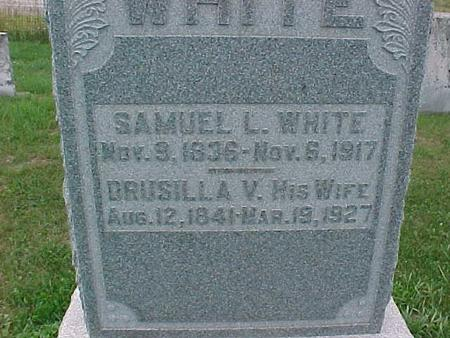 WHITE, SAMUEL L. - Henry County, Iowa | SAMUEL L. WHITE