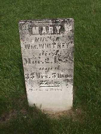 WHITNEY, MARY - Henry County, Iowa | MARY WHITNEY