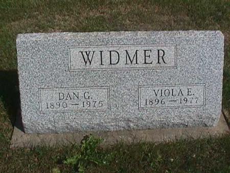 WIDMER, VIOLA - Henry County, Iowa | VIOLA WIDMER
