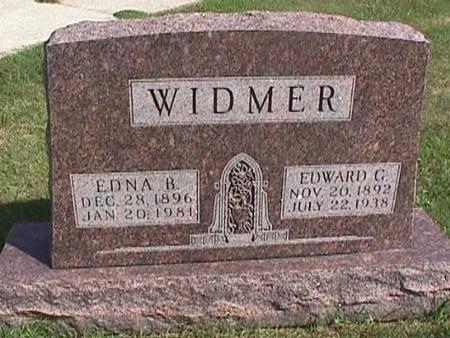 WIDMER, EDWARD - Henry County, Iowa | EDWARD WIDMER