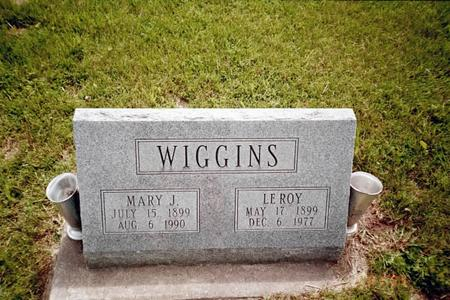WIGGINS, MARY J. - Henry County, Iowa | MARY J. WIGGINS