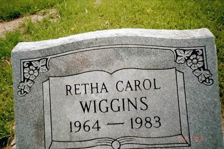 WIGGINS, RETHA CAROL - Henry County, Iowa | RETHA CAROL WIGGINS