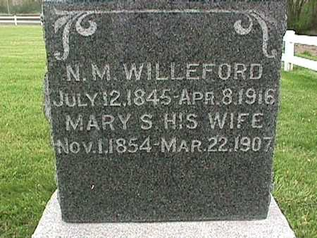 WILLEFORD, MARY - Henry County, Iowa | MARY WILLEFORD