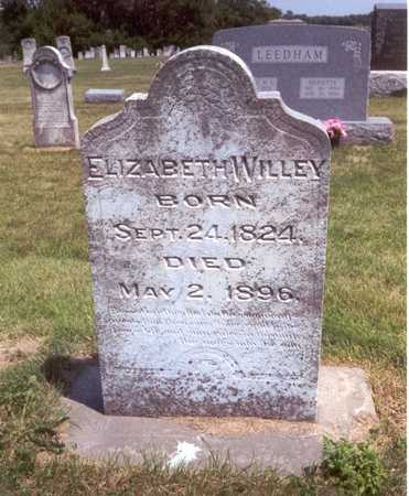 WHARFF WILLEY, ELIZABETH - Henry County, Iowa | ELIZABETH WHARFF WILLEY