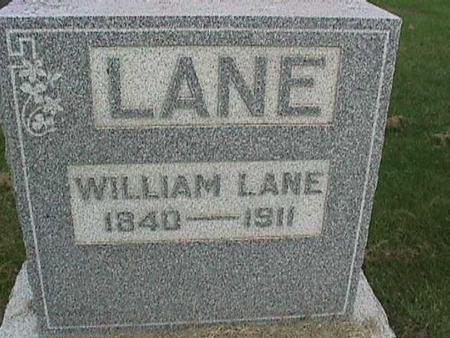 LANE, WILLIAM - Henry County, Iowa | WILLIAM LANE