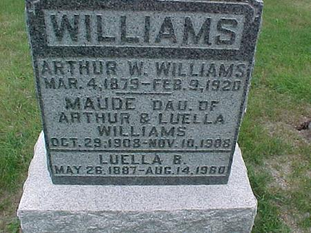 WILLIAMS, LUELLE - Henry County, Iowa | LUELLE WILLIAMS