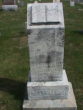 WILLIAMS, ELIZABETH - Henry County, Iowa | ELIZABETH WILLIAMS