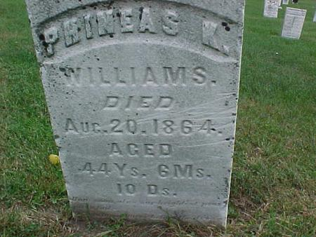 WILLIAMS, PHINEAS - Henry County, Iowa | PHINEAS WILLIAMS