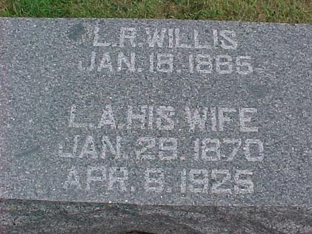 WILLIS, L. A. - Henry County, Iowa   L. A. WILLIS