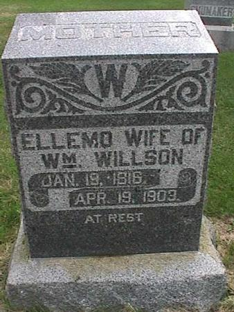WILLSON, ELLEMO - Henry County, Iowa | ELLEMO WILLSON