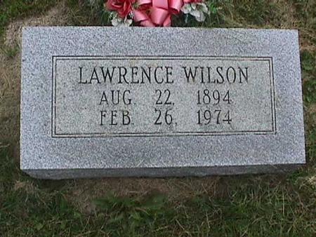 WILSON, LAWRENCE - Henry County, Iowa   LAWRENCE WILSON