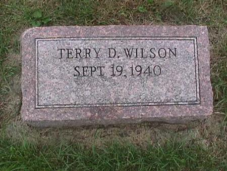 WILSON, TERRY D. - Henry County, Iowa | TERRY D. WILSON