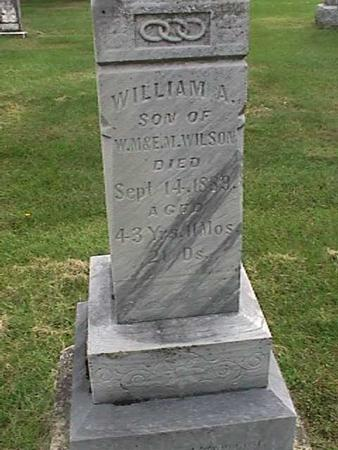 WILSON, WILLIAM A - Henry County, Iowa | WILLIAM A WILSON