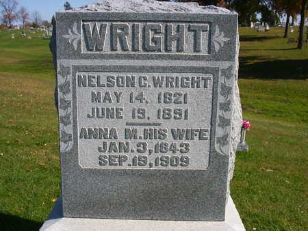 ROBERTS WRIGHT, ANNA M. - Henry County, Iowa | ANNA M. ROBERTS WRIGHT
