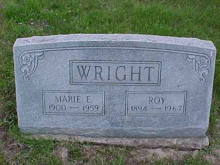 WRIGHT, MARIE E. - Henry County, Iowa | MARIE E. WRIGHT