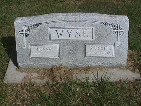 WYSE, S. SCOTT - Henry County, Iowa | S. SCOTT WYSE