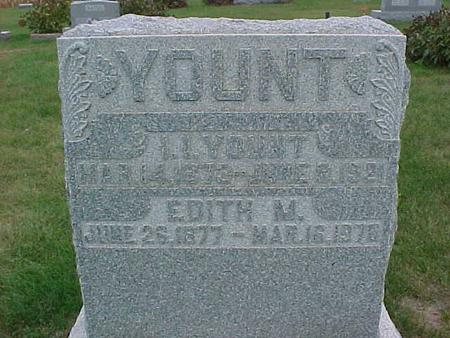 YOUNT, EDITH - Henry County, Iowa | EDITH YOUNT