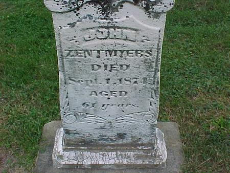 ZENTMEYERS, JOHN - Henry County, Iowa | JOHN ZENTMEYERS
