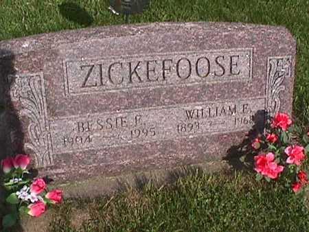 ZICKEFOOSE, BESSIE E. - Henry County, Iowa | BESSIE E. ZICKEFOOSE