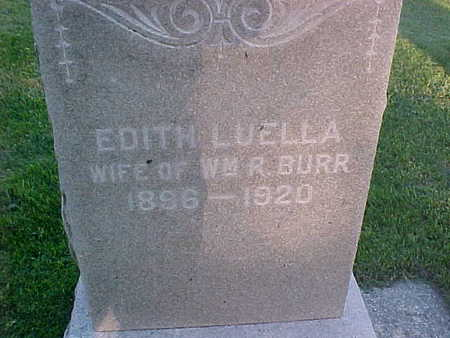 LUELLA BURR, EDITH - Howard County, Iowa | EDITH LUELLA BURR