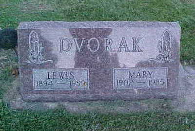 DVORAK, MARY - Howard County, Iowa | MARY DVORAK