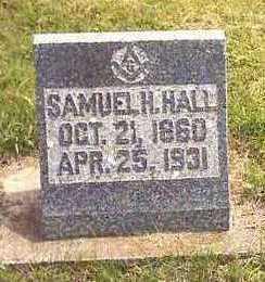 HALL, SAMUEL H. - Howard County, Iowa   SAMUEL H. HALL