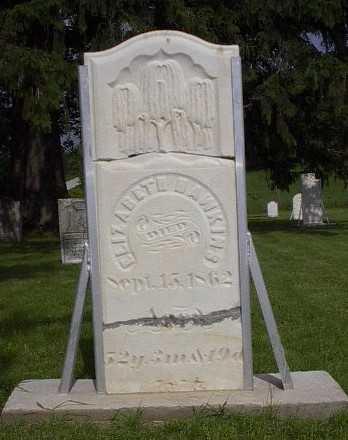 HAWKINS, ELIZABETH - Howard County, Iowa | ELIZABETH HAWKINS