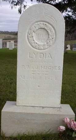 HUGHES, LYDIA - Howard County, Iowa | LYDIA HUGHES