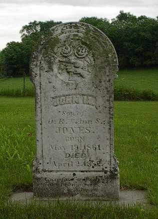 JONES, JOHN M. - Howard County, Iowa | JOHN M. JONES