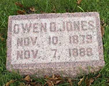 JONES, OWEN O. - Howard County, Iowa   OWEN O. JONES