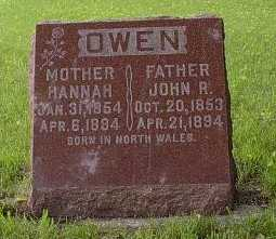 OWEN, JOHN R. - Howard County, Iowa | JOHN R. OWEN