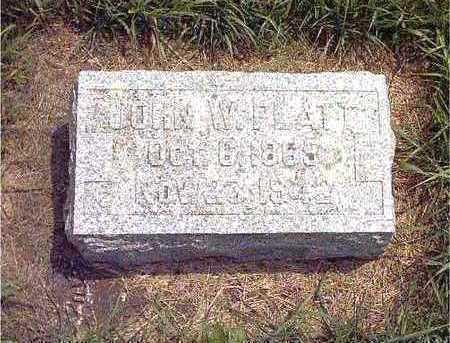 PLATT, JOHN W. - Howard County, Iowa   JOHN W. PLATT