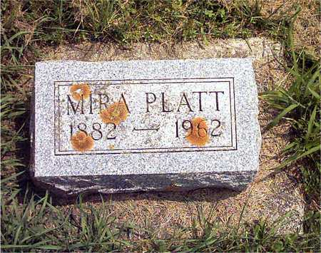 PLATT, MIRA - Howard County, Iowa | MIRA PLATT
